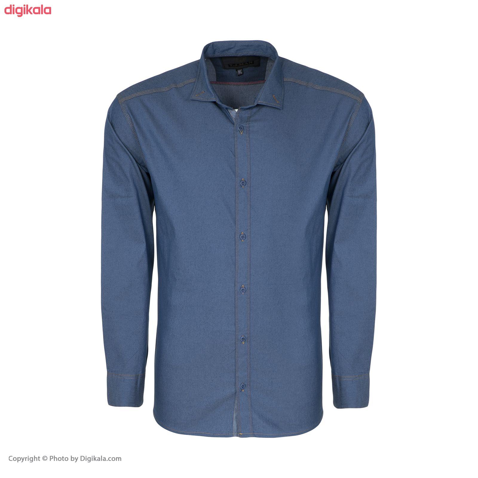 پیراهن آستین بلند مردانه مدل CLF Mir main 1 1