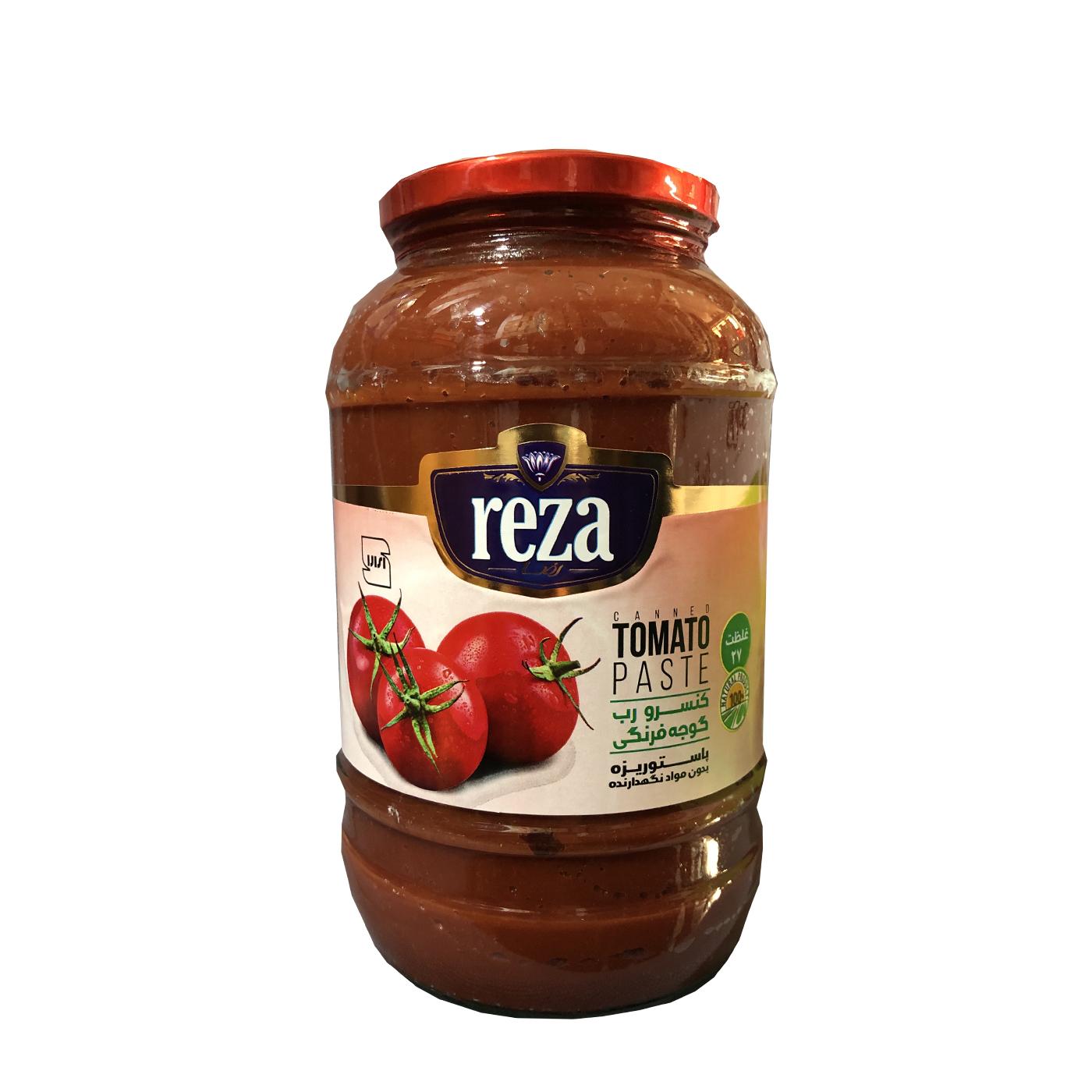 رب گوجه فرنگی رضا - 1500 گرم
