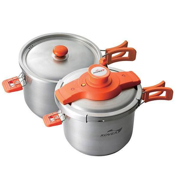 مجموعه ظروف سفری کووآ مدل quick cooker