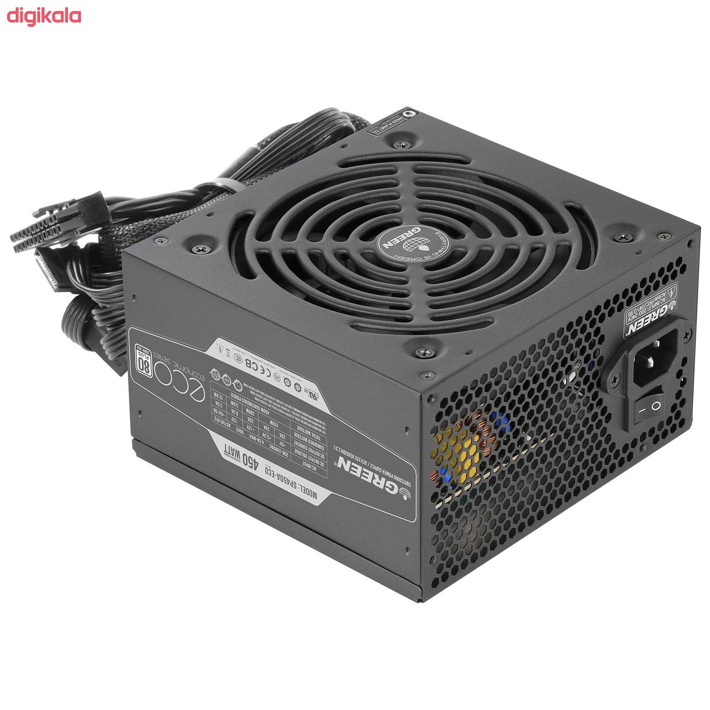 منبع تغذیه کامپیوتر گرین مدل GP450A-ECO Rev3.1 main 1 1