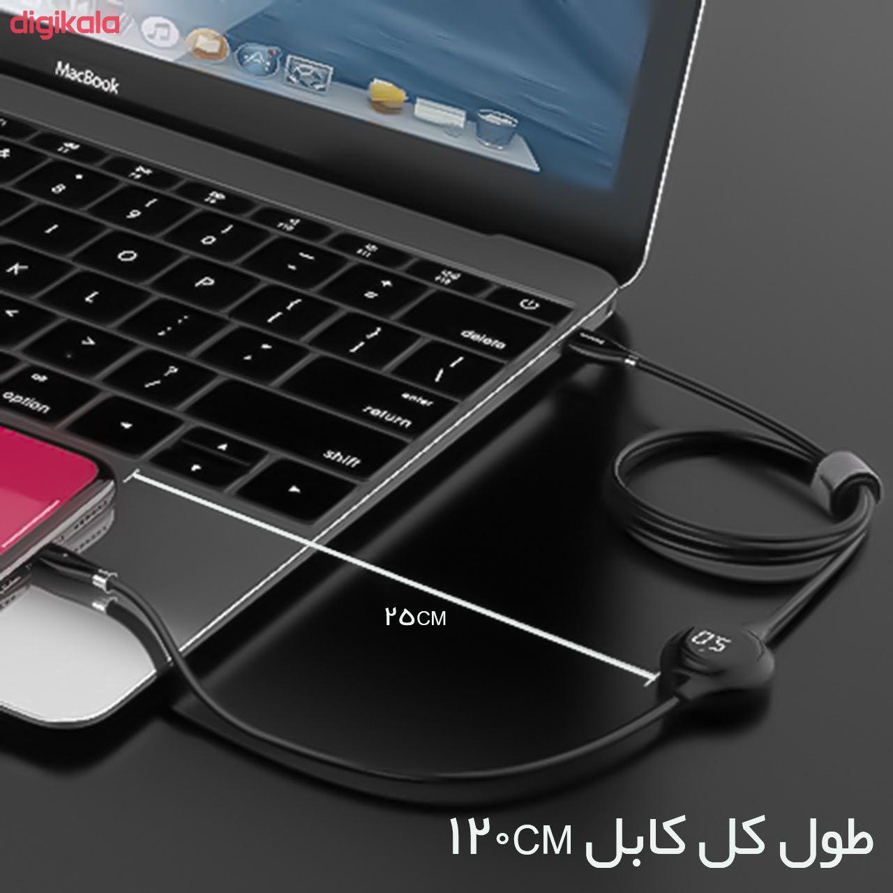 کابل تبدیل USB به لایتنینگ باسئوس مدل CALEYE طول 1.2 متر main 1 10