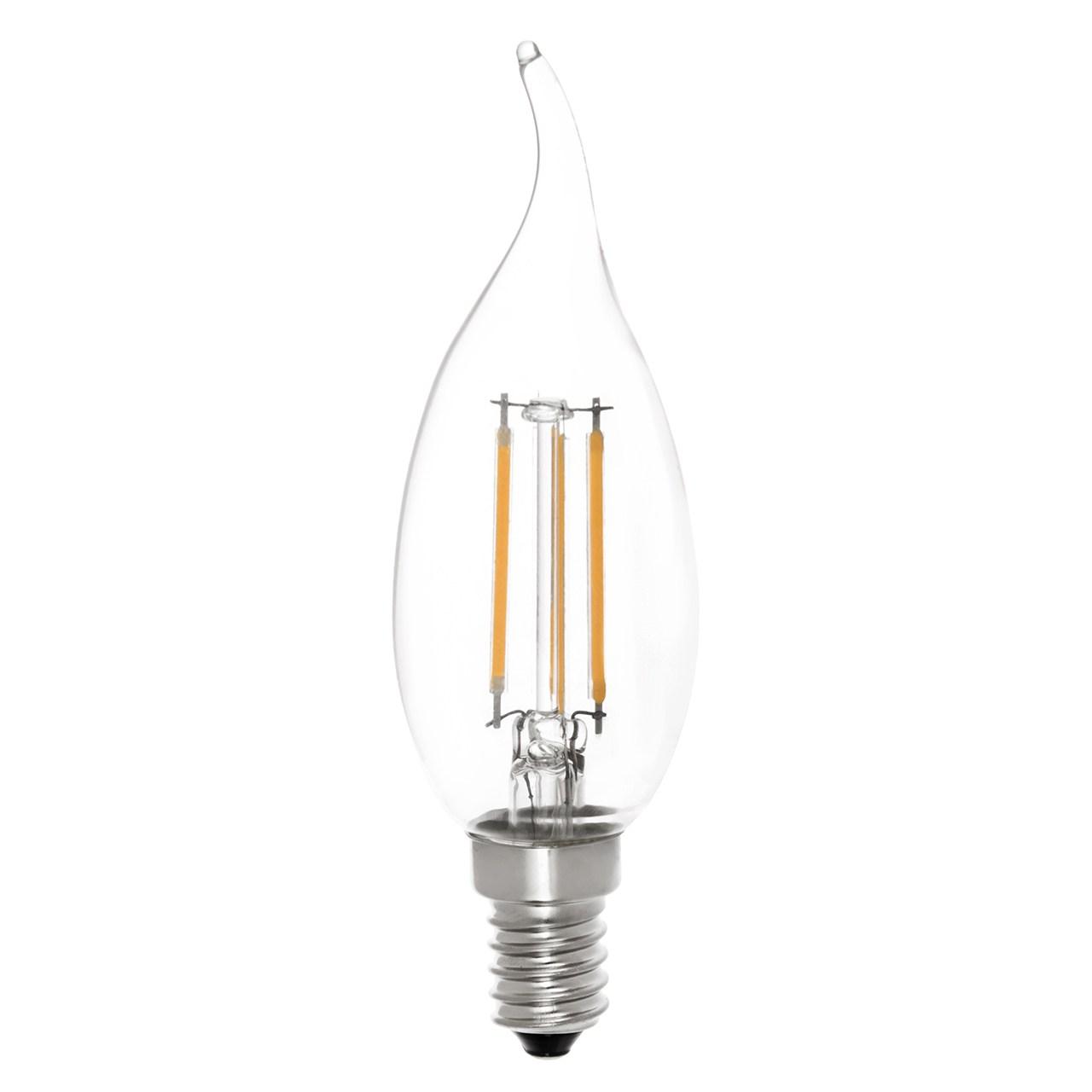 لامپ ال ای دی فیلامنتی 4 وات سان شاین پایه E14