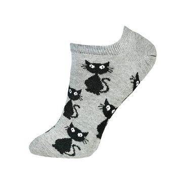 جوراب زنانه مدل گربه