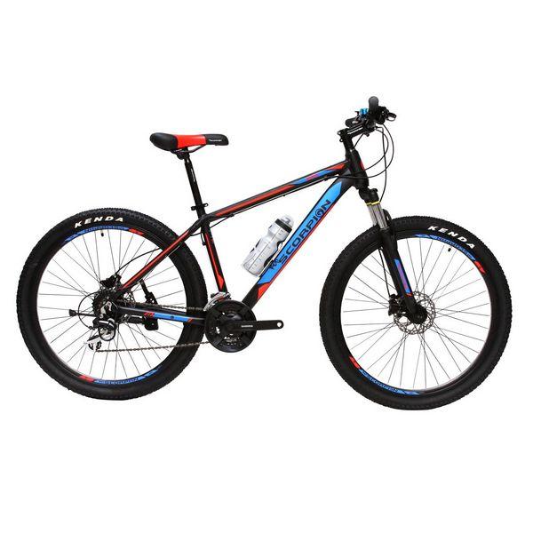 دوچرخه کوهستان اسکورپیون مدل Rs 270 Ys 727 Black Red Blue سایز 27.5