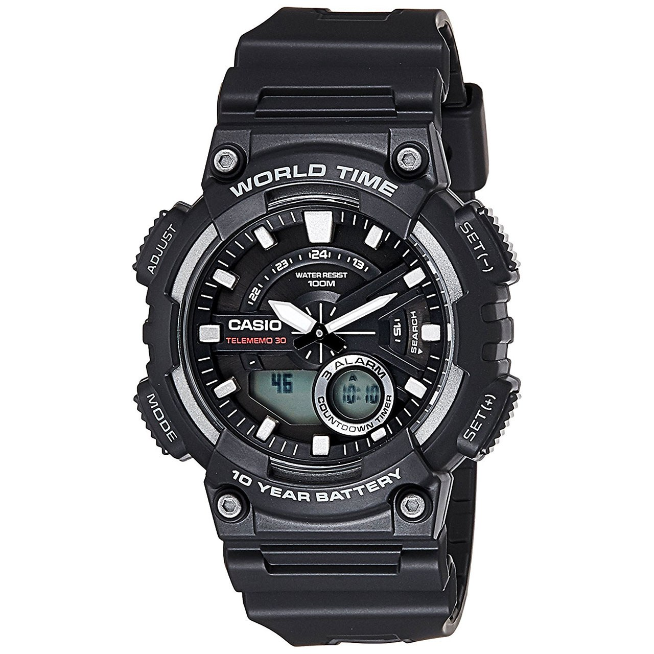 ساعت مچی عقربه ای مردانه کاسیو مدل AEQ-110W-1AVDF 55