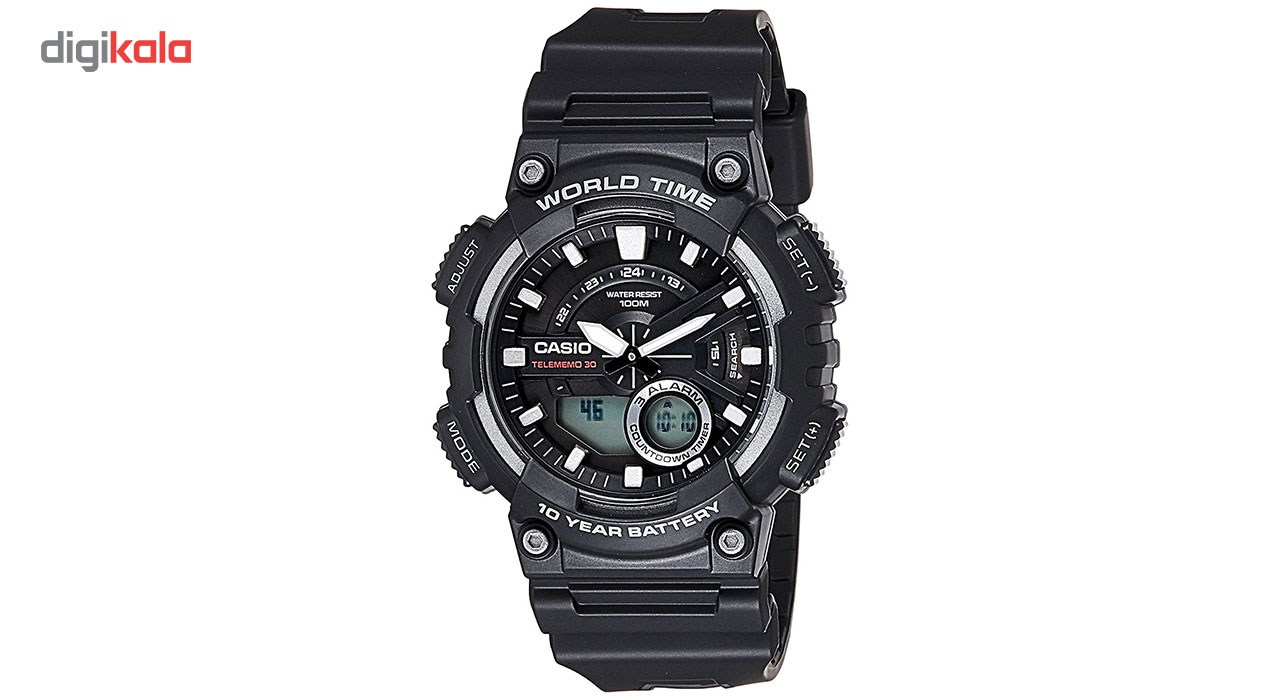 خرید ساعت مچی عقربه ای مردانه کاسیو مدل AEQ-110W-1AVDF | ساعت مچی