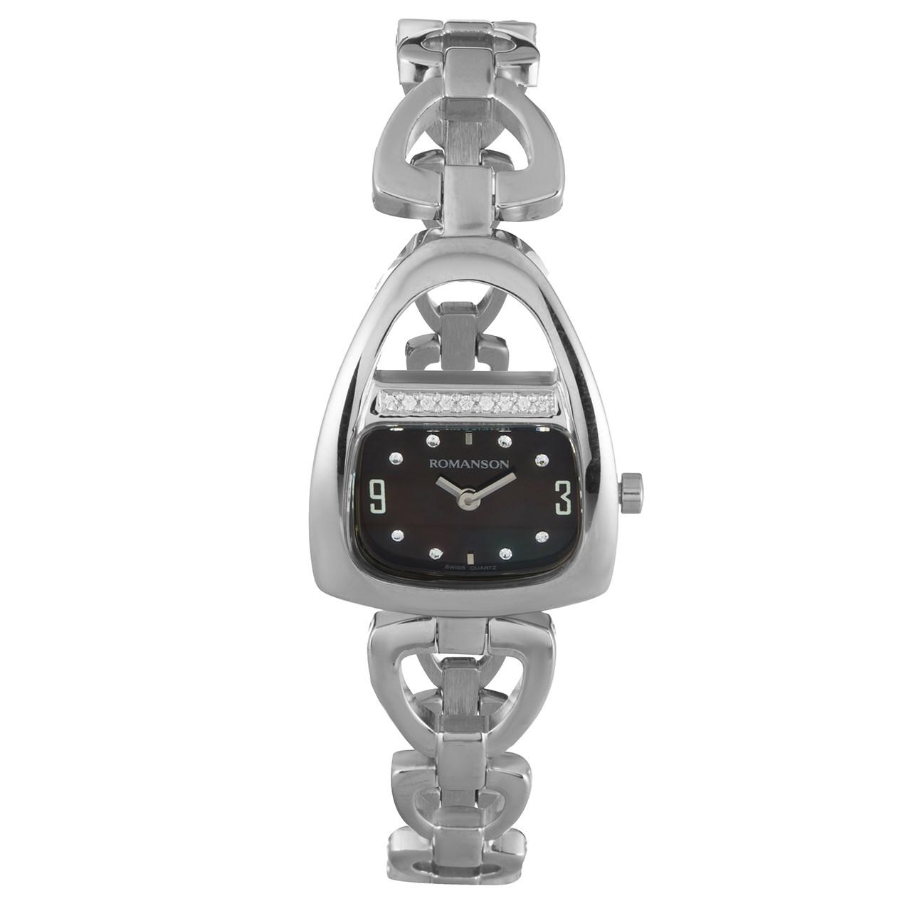 ساعت مچی عقربه ای زنانه رومانسون مدل RM1207QL1WM32W
