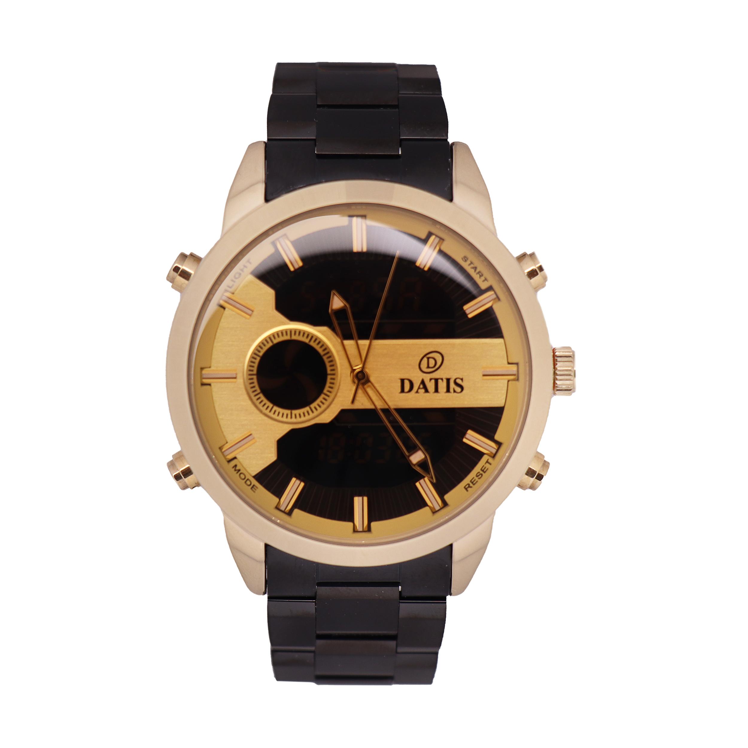 ساعت مچی عقربهای مردانه داتیس مدل 8496