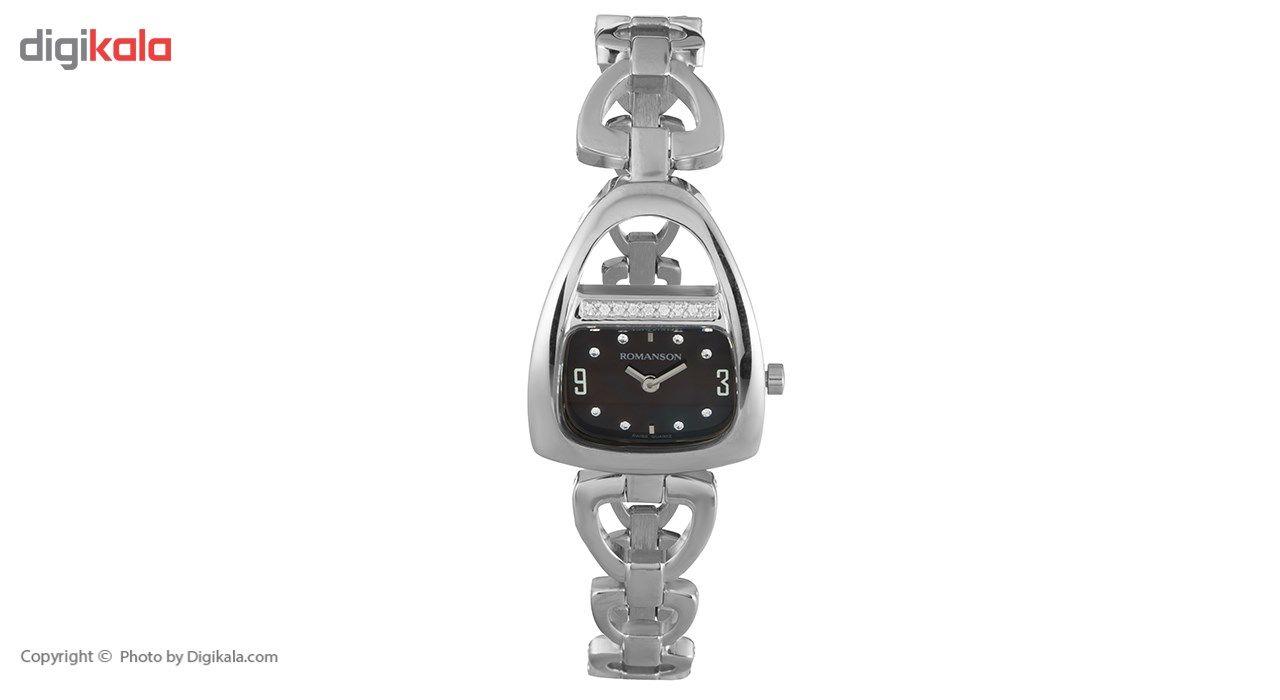 ساعت مچی عقربه ای زنانه رومانسون مدل RM1207QL1WM32W -  - 2