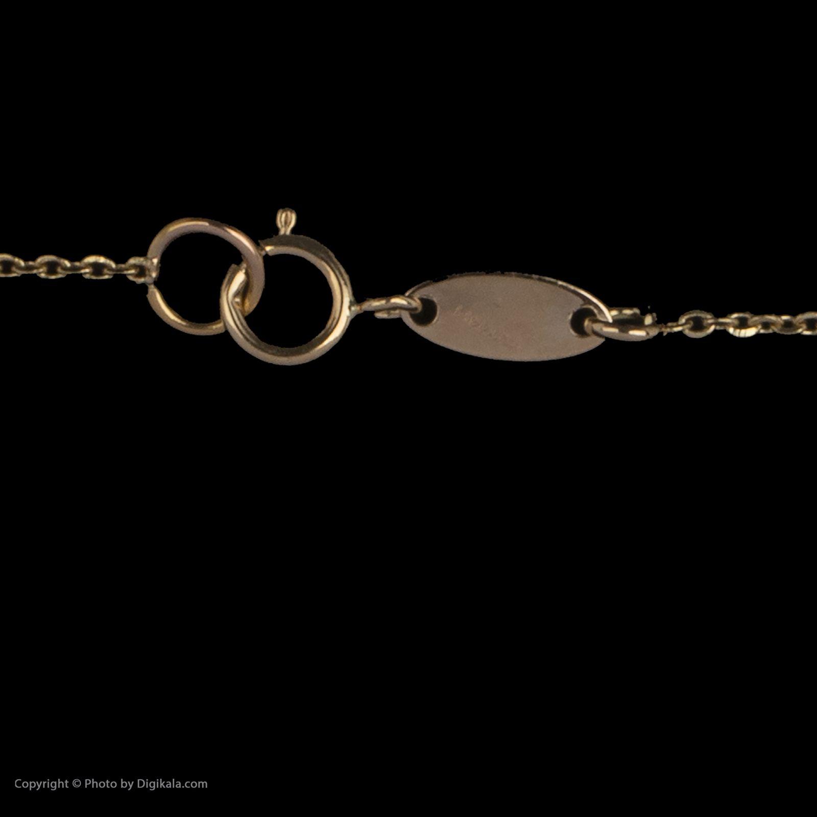گردنبند طلا 18 عیار زنانه سیودو مدل 163956 -  - 5
