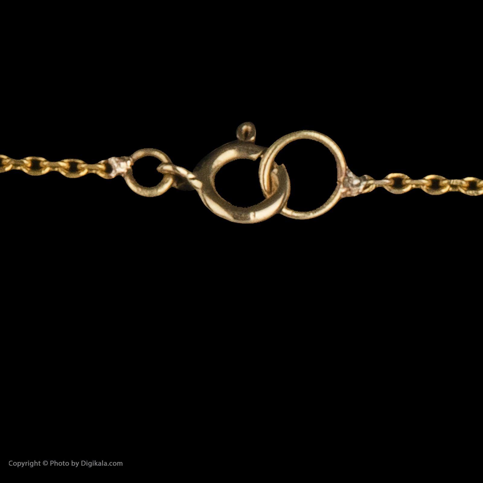 گردنبند طلا 18 عیار زنانه سیودو مدل 119559 -  - 5