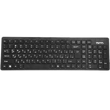 کیبورد تسکو مدل TK 8006 با حروف فارسی | TSCO TK 8006 Keyboard With Persian Letters