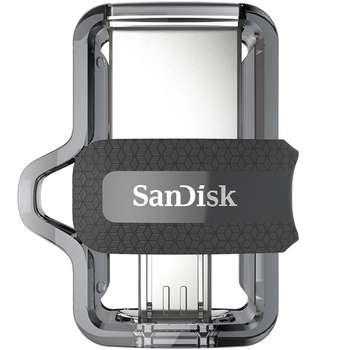 فلش مموری سن دیسک مدل Ultra Dual Drive M3.0 ظرفیت 32 گیگابایت