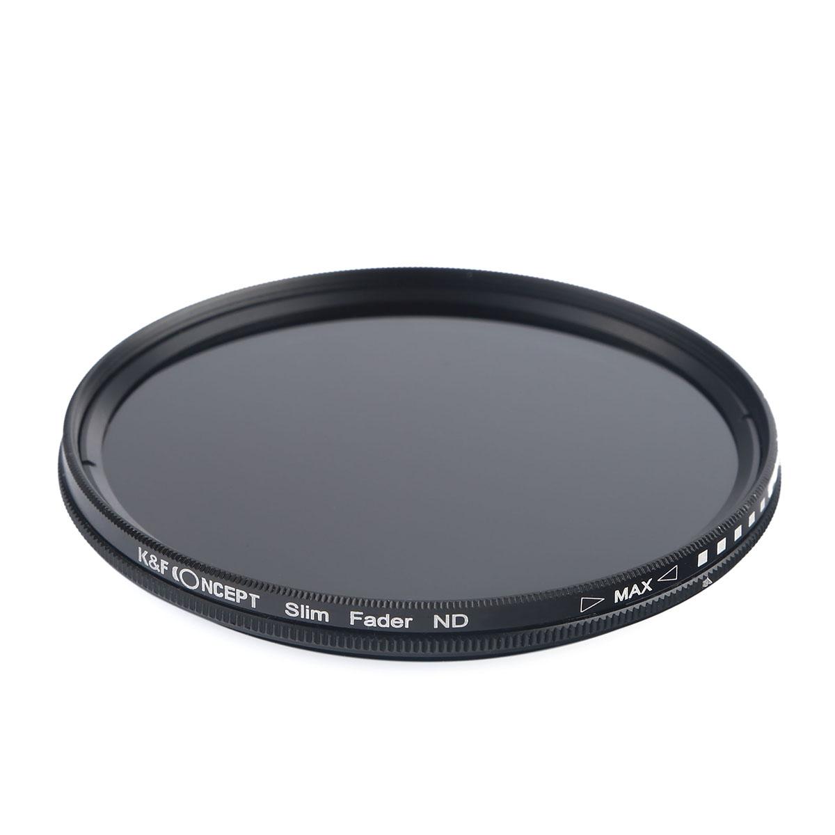بررسی و {خرید با تخفیف} فیلتر لنز کی اند اف مدل ND2-ND400 40.5mm اصل