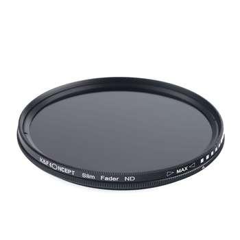 فیلتر لنز کی اند اف مدل ND2-ND400 77mm