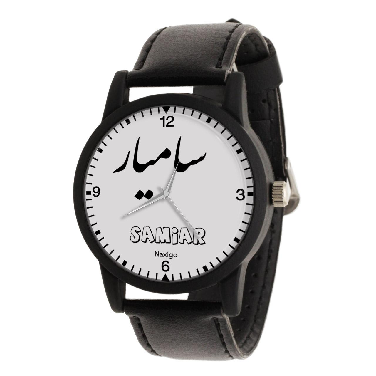 ساعت مچی عقربه ای مردانه ناکسیگو طرح سامیار کد LF3324