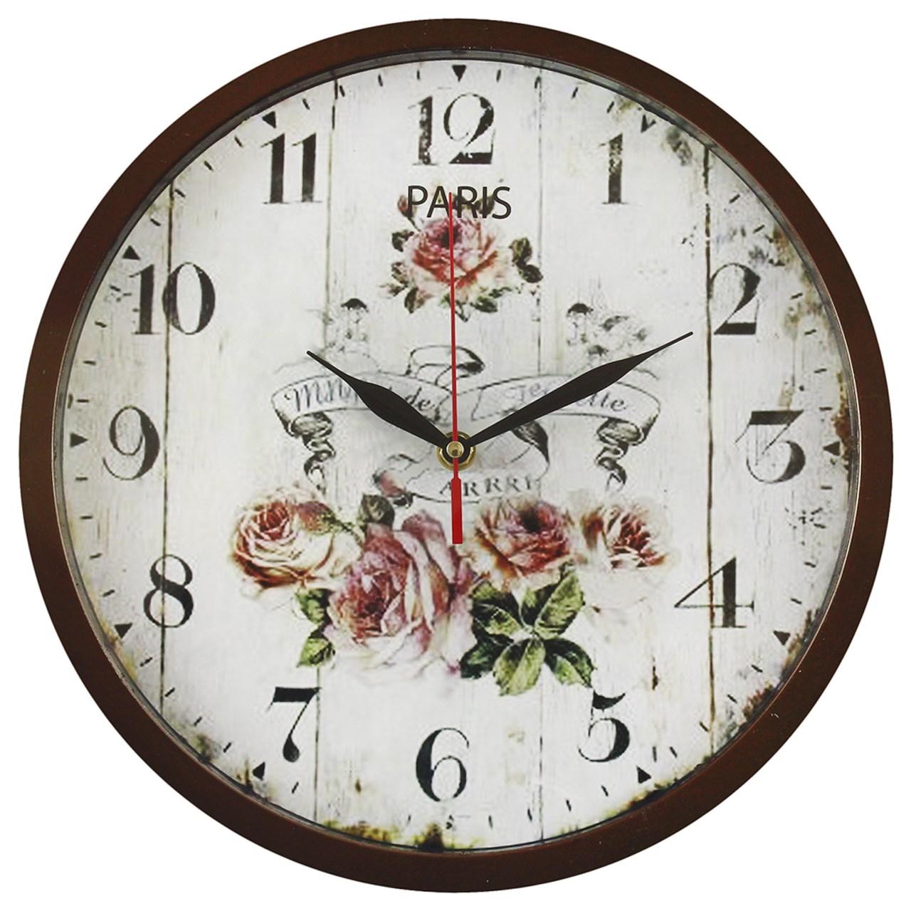 ساعت دیواری شیانچی طرحflower  کد 10010058