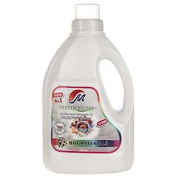 مایع لباسشویی مخصوص لباس های رنگی مهرتاش حجم 1.5 لیتر