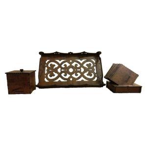 ست چایی خوری چوبی آمیتیس وود مدل پتی بور کد 253-248-169