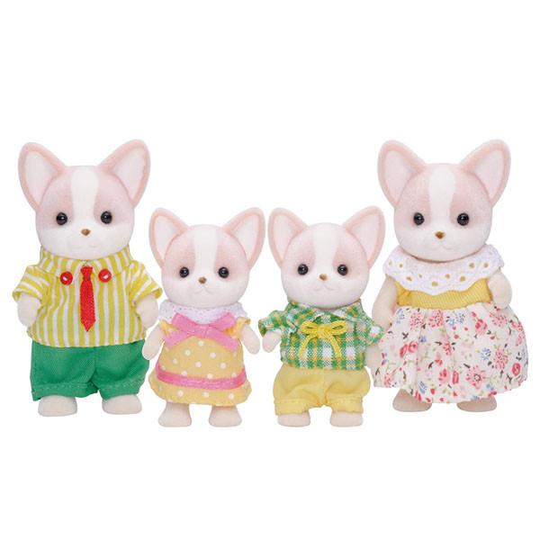 عروسک سیلوانیان فامیلیز مدل سگ کد 4387 مجموعه 4 عددی