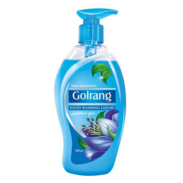 مایع دستشویی آبی گلرنگ مقدار 500 گرم