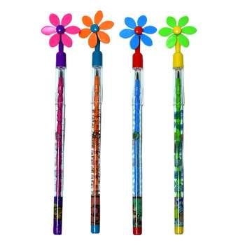 مداد فشنگی پارسیکار طرح گل کد 002 مجموعه 4 عددی