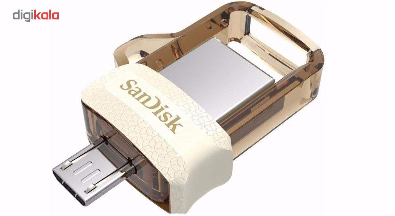 فلش مموری سن دیسک مدل Ultra Dual Drive M3.0 ظرفیت 32 گیگابایت main 1 9