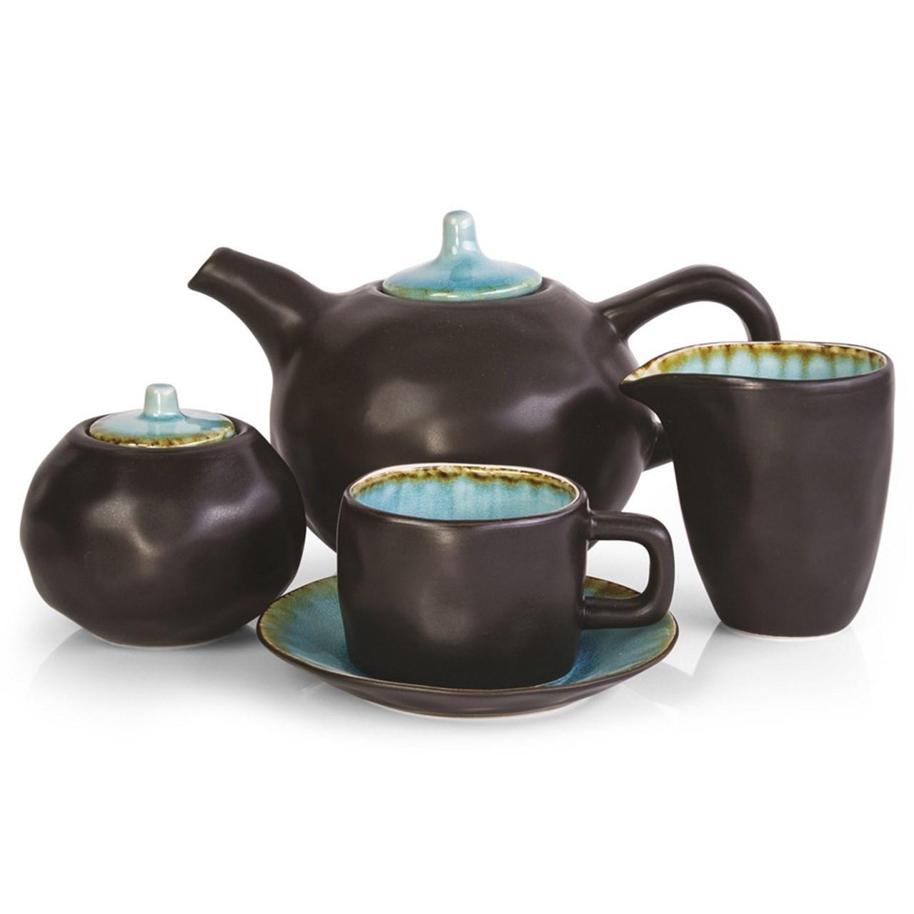سرویس چای خوری 17 پارچه بنتاتی مدل Sabou