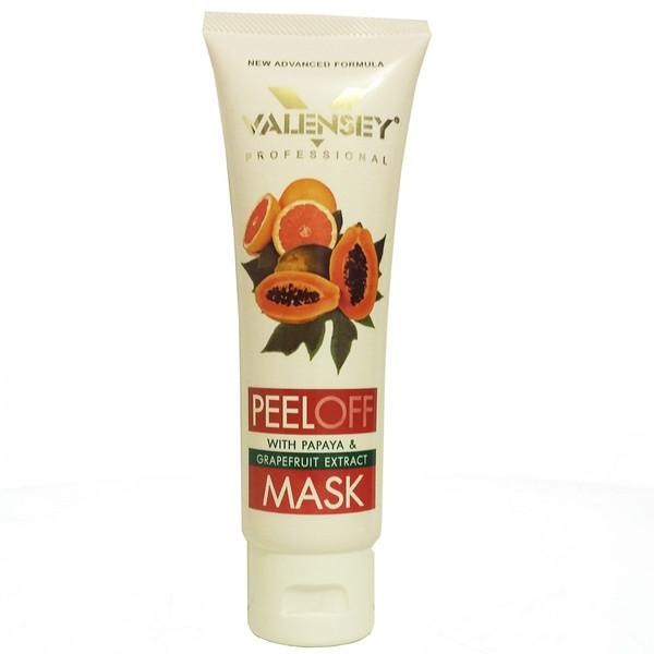 ماسک لایه بردار والنسی حاوی عصاره پاپایا حجم 110 میلی لیتر