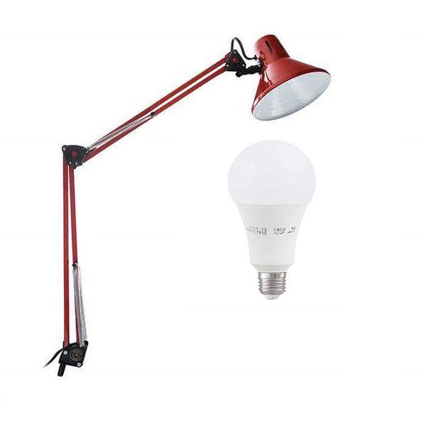 چراغ مطالعه مدل EN-101 همراه با لامپ ال ای دی 9 وات