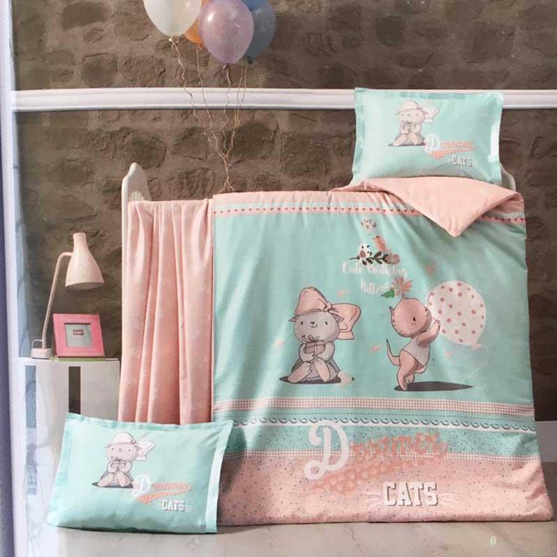 سرویس خواب 5 تکه کودک مولی مدل Cats