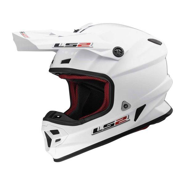 کلاه کاسکت ال اس تو مدل MX106-WHT