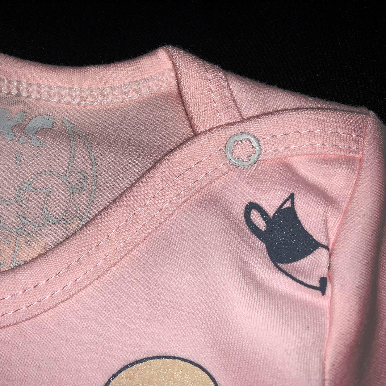 ست تی شرت و شلوار نوزادی طرح گاو کد FF-080 -  - 5