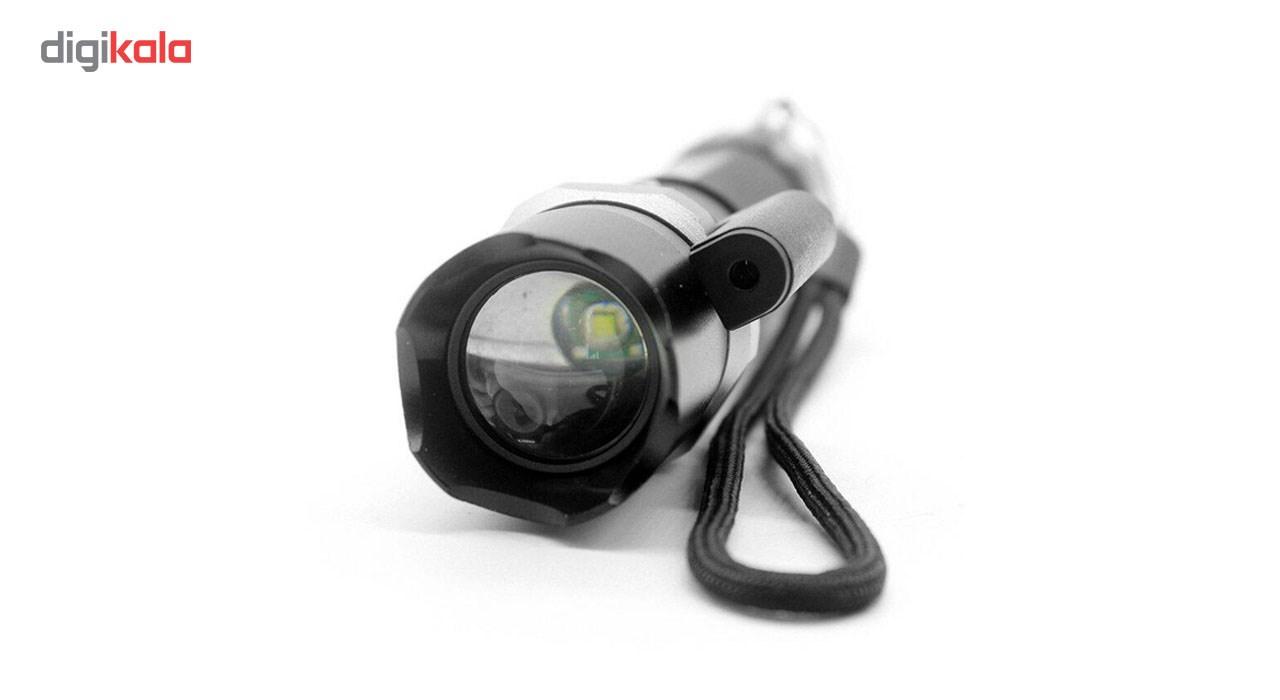 چراغ قوه اسوات پلیس مدل لیزردار