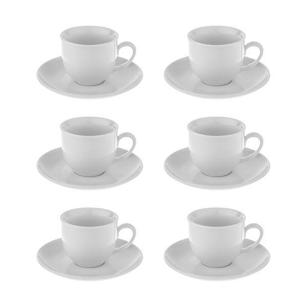 سرویس چای خوری 12 پارچه شرکت صنایع چینی تقدیس کد 130-1