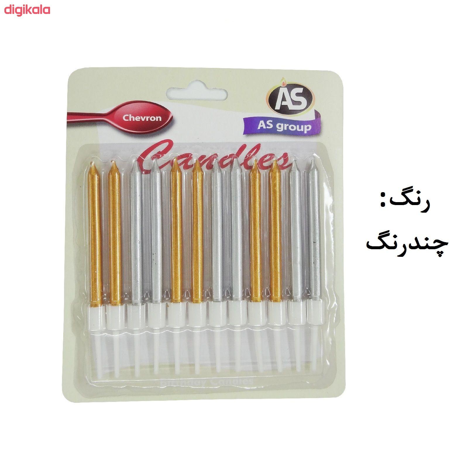 شمع تولد طرح مداد کد 1008 بسته 12 عددی main 1 1