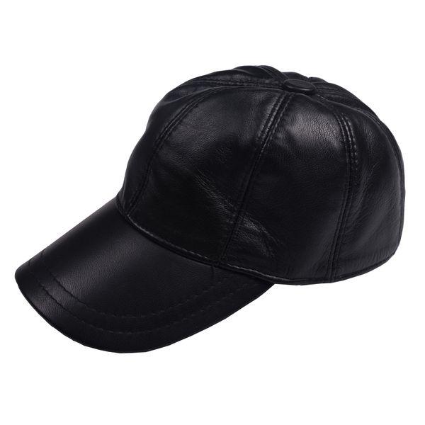 کلاه کپ چرم کن ا مدل D-466