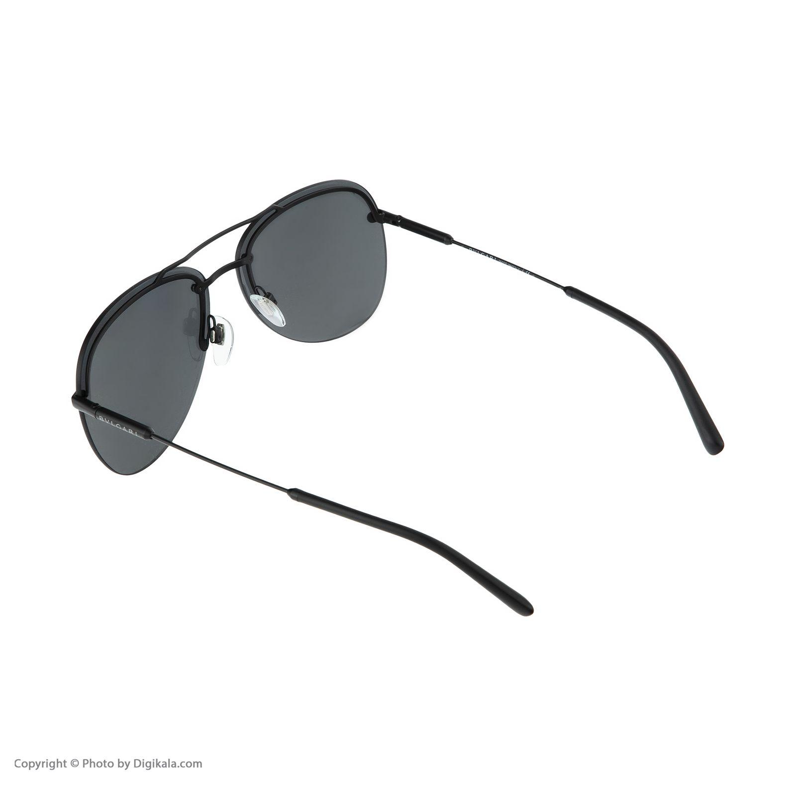 عینک آفتابی مردانه بولگاری مدل BV5044S 12887 -  - 5