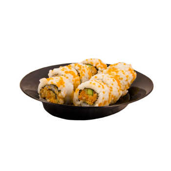 سوشی کالیفرنیا توبیکو مزبار - رول 8 عددی
