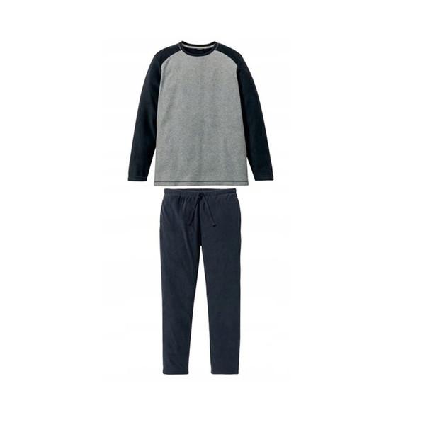 ست تی شرت استین بلند و شلوار مردانه لیورجی مدل 319844