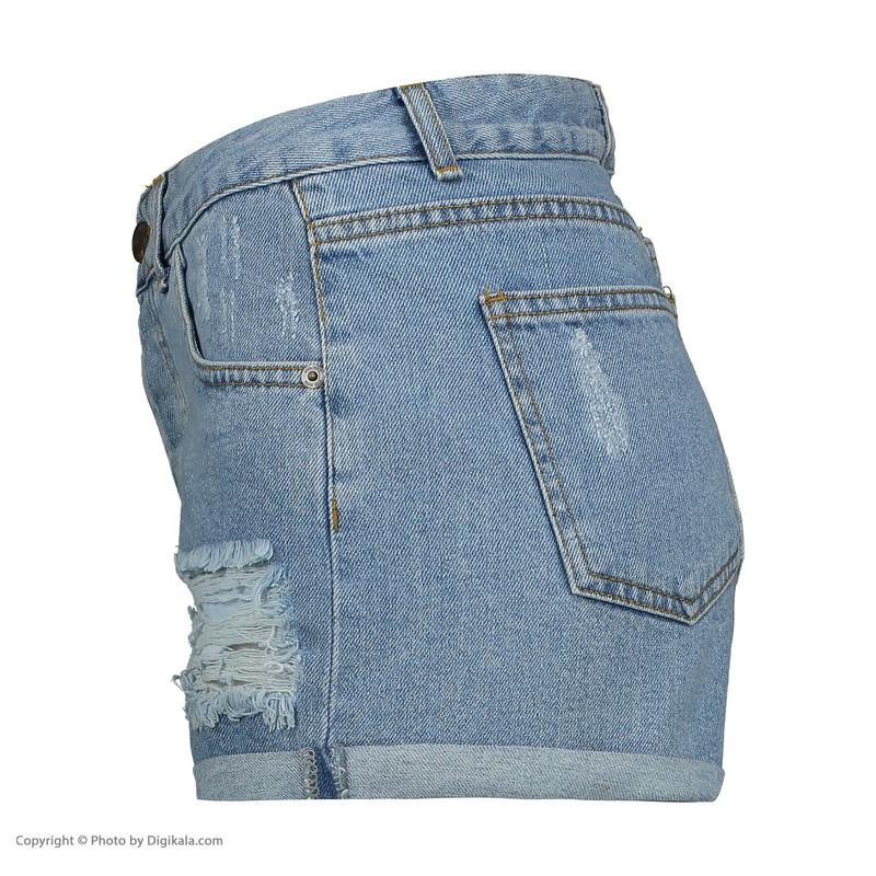 شلوارک جین زنانه آر ان اس مدل 105006-50