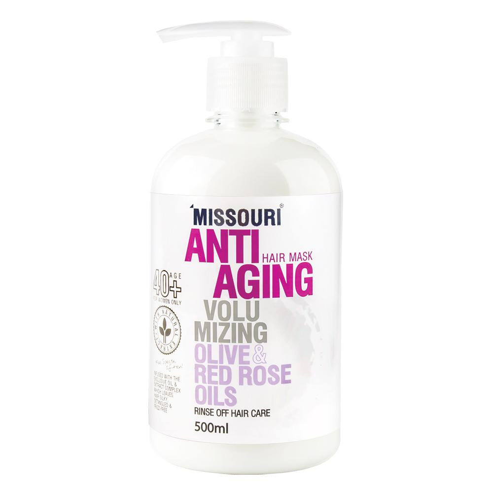 ماسک  حجم دهنده مو میسوری مدل Anti Aging حجم 500 میلی لیتر