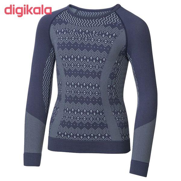 ست تی شرت و لگینگ ورزشی زنانهکرویت پرو مدل IAN-315606 main 1 1