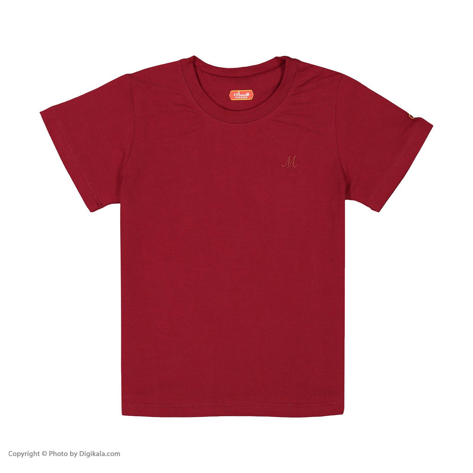 ست تی شرت و شلوارک پسرانه مادر مدل 421-70 -  - 4