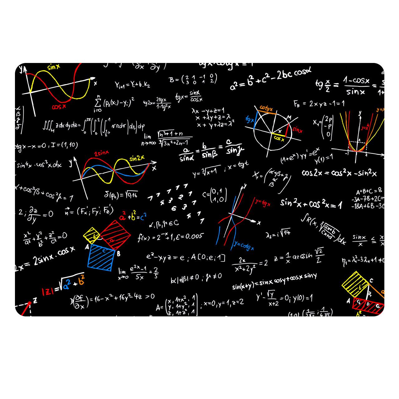 ماوس پد طرح ریاضی مدل MP1027