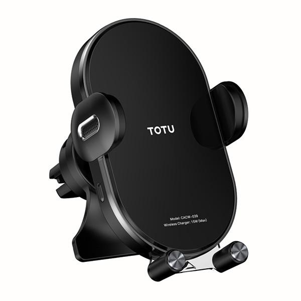 پایه نگهدارنده گوشی موبایل و شارژر بی سیم توتو مدل CACW-039