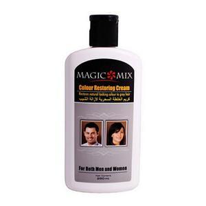 کرم مو رفع سفیدی مو مجیک میکس مدل Colour Restoring Cream حجم 250 میلی لیتر