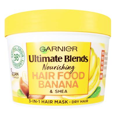 ماسک تغذیه کننده مو گارنیه سری Hair Food مدل 3in1 حجم 390 میلی لیتر