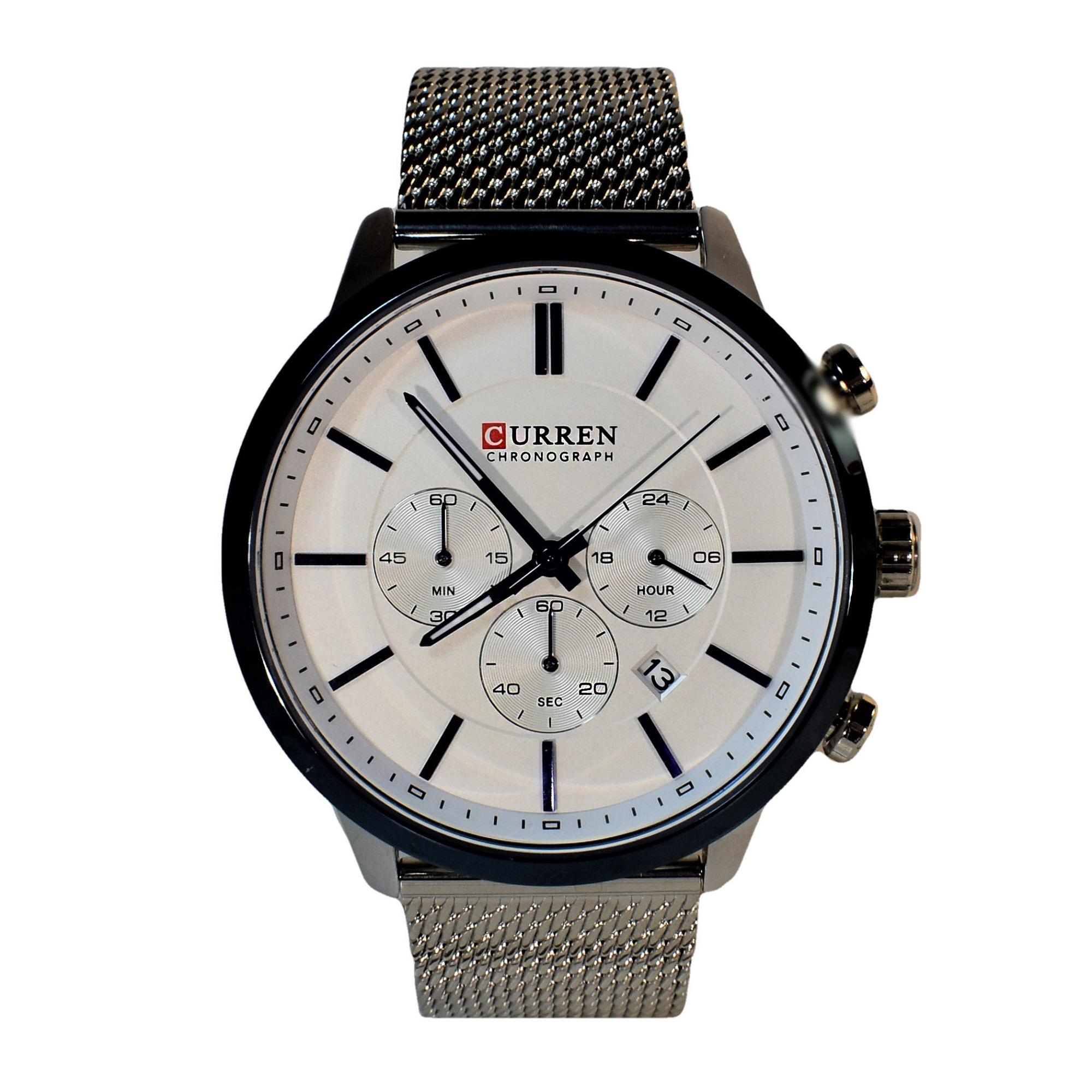 ساعت مچی عقربهای مردانه کورن واتچ مدل M-8340