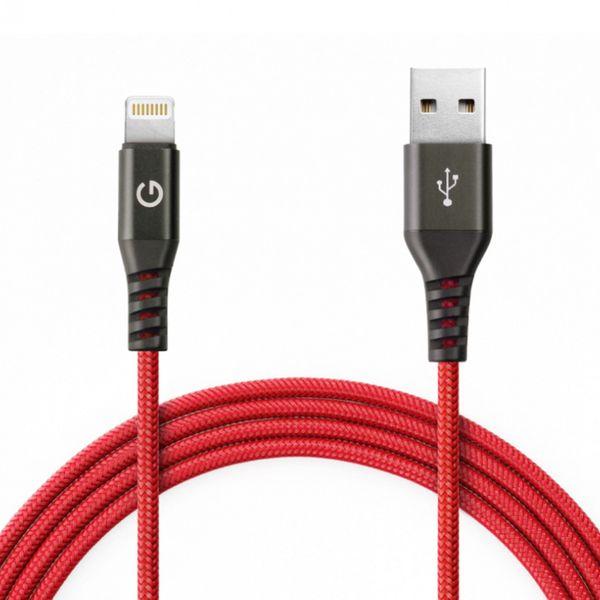 کابل تبدیل USB به لایتنینگ انرجیا مدل Alutough طول 1.5 متر